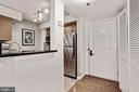Entry to open kitchen - 1024 N UTAH ST #219, ARLINGTON