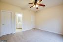 Bedroom 2 has en suite, plus NEW CARPET. - 11500 BALMARTIN CT, SPOTSYLVANIA