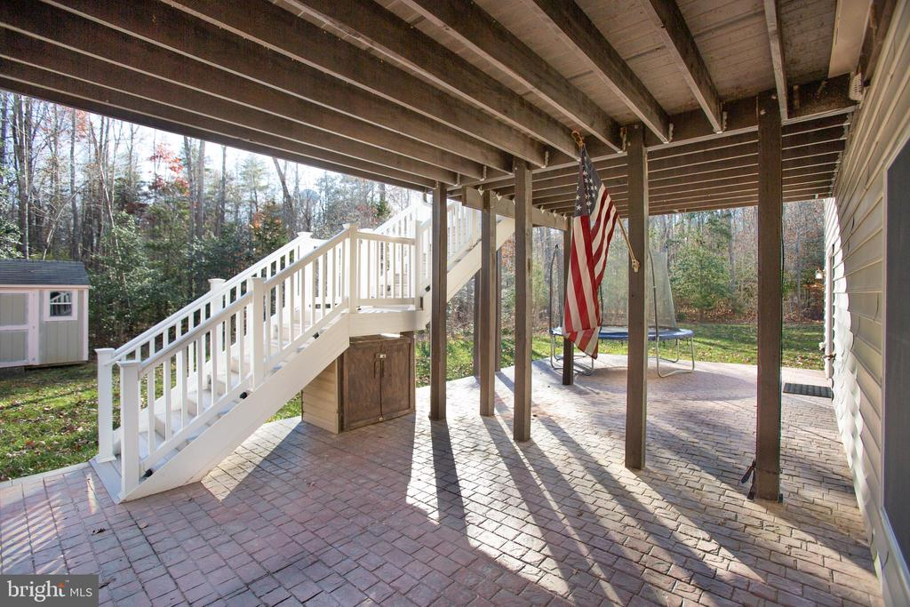 Stamped Concrete Patio, Turnkey! - 11500 BALMARTIN CT, SPOTSYLVANIA
