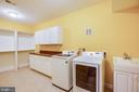 LL Laundry, and also hookups off Kitchen. - 11500 BALMARTIN CT, SPOTSYLVANIA