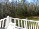 View off Deck. Cradled by Tree-lines. - 11500 BALMARTIN CT, SPOTSYLVANIA