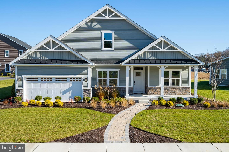 Single Family Homes pour l Vente à Dagsboro, Delaware 19939 États-Unis
