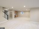 similar recreation room with wet bar - 515 BEALL AVE, ROCKVILLE