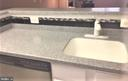 Corian sink and attractive backsplash - 3835-102W 9TH ST N #102W, ARLINGTON