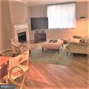 Living-dining room with new hardwood floors - 3835-102W 9TH ST N #102W, ARLINGTON