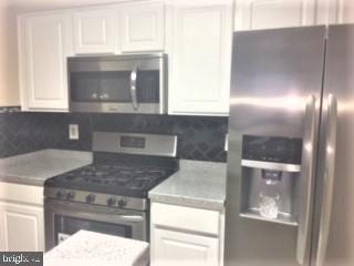 Stainless steel appliances and new backsplash - 3835-102W 9TH ST N #102W, ARLINGTON
