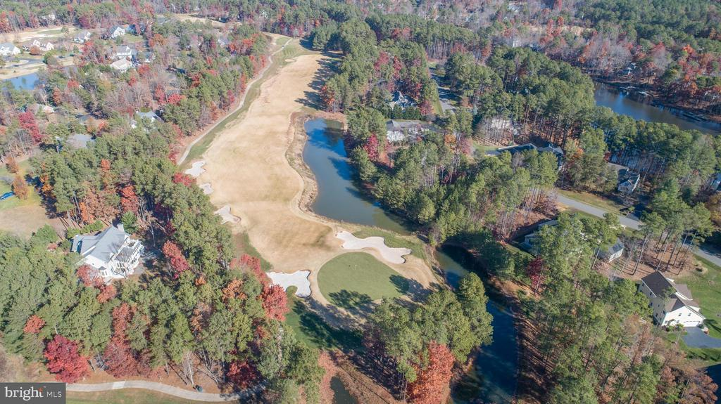 The golf course is just out your back yard gate! - 11502 GENERAL WADSWORTH DR, SPOTSYLVANIA