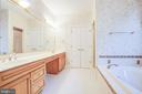 Master Bath Suite with double vanity - 11502 GENERAL WADSWORTH DR, SPOTSYLVANIA