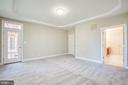 Master Bedroom has double doors to bathroom suite - 11502 GENERAL WADSWORTH DR, SPOTSYLVANIA