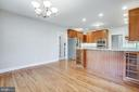 Entertaining is easy with this countertop - 11502 GENERAL WADSWORTH DR, SPOTSYLVANIA