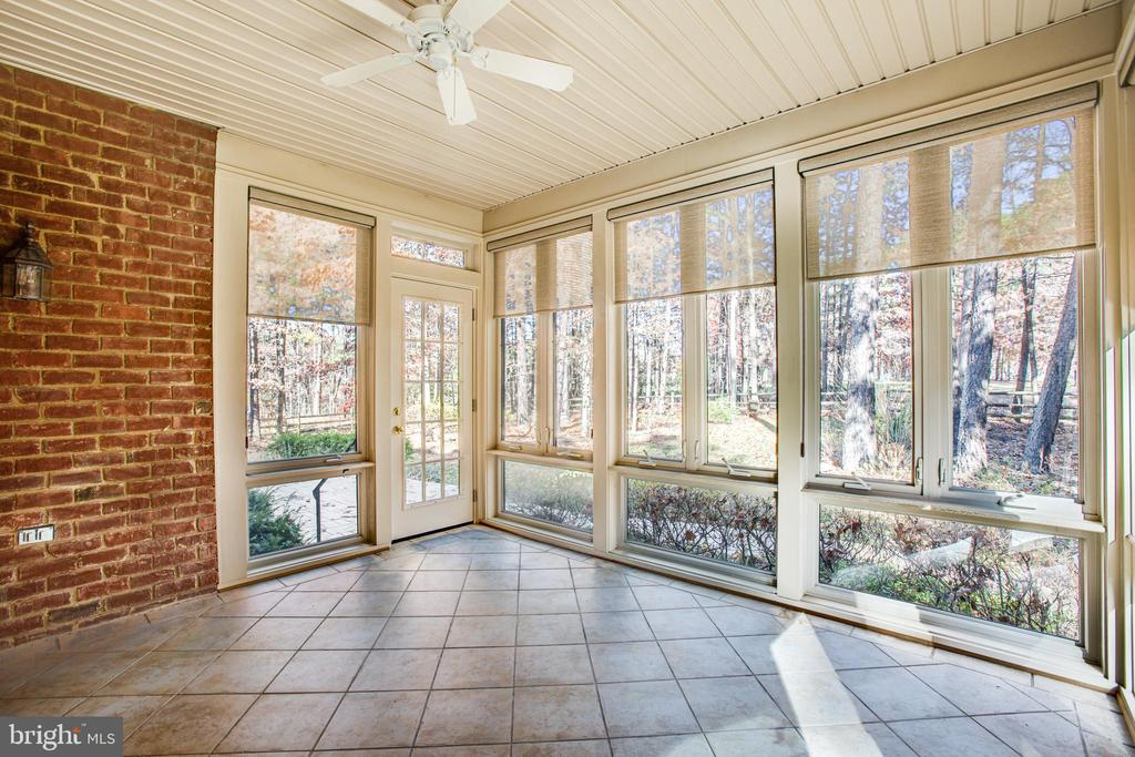 This sunny porch brings outdoors in! - 11502 GENERAL WADSWORTH DR, SPOTSYLVANIA