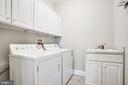Laundry on main level - 11502 GENERAL WADSWORTH DR, SPOTSYLVANIA