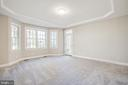 1st Floor Master Bedroom leads to rear patio - 11502 GENERAL WADSWORTH DR, SPOTSYLVANIA