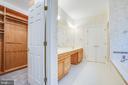 Large walk-in closet in Master Suite - 11502 GENERAL WADSWORTH DR, SPOTSYLVANIA