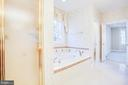 Separate shower and jetted tub in MBA - 11502 GENERAL WADSWORTH DR, SPOTSYLVANIA