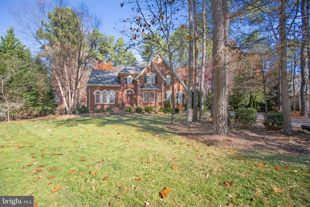 The cul de sac offers additional privacy - 11502 GENERAL WADSWORTH DR, SPOTSYLVANIA