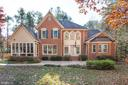 The back of this lovely home - 11502 GENERAL WADSWORTH DR, SPOTSYLVANIA