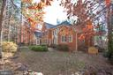 This is an excellent view of the rear of the home - 11502 GENERAL WADSWORTH DR, SPOTSYLVANIA