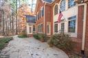 Doors lead to several rooms on main level - 11502 GENERAL WADSWORTH DR, SPOTSYLVANIA