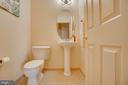 Main Level Powder Room - 3 GRISTMILL DR, STAFFORD