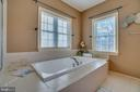 Modern and Sleek Spa-like Soaking Tub - 3 GRISTMILL DR, STAFFORD