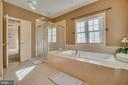 Separate Shower with Glass Surround/Water Closet - 3 GRISTMILL DR, STAFFORD