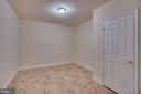 Basement Storage/Flex Room - 3 GRISTMILL DR, STAFFORD