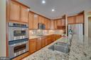 Gourmet Kitchen with Stainless Steel Double Ovens - 3 GRISTMILL DR, STAFFORD