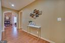 Center Hall leads to Garage,Powder Room& Bedroom 5 - 3 GRISTMILL DR, STAFFORD