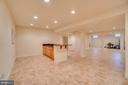Granite Countertops & Room for Refrigerator - 3 GRISTMILL DR, STAFFORD