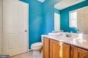Half Bath on main level - 113 EDGEHILL DR, LOCUST GROVE