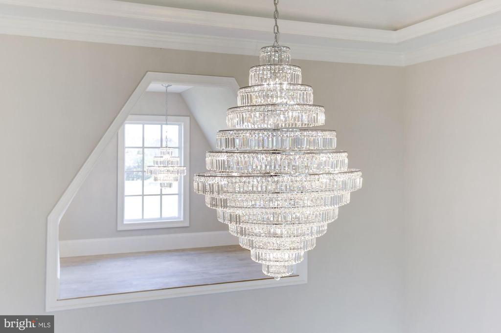 Stunning Crystal Chandeliers - 804 HORTENSE PL, GREAT FALLS