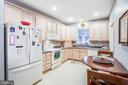 nice big kitchen - 93 LEGEND DR, FREDERICKSBURG