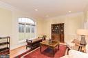 Living room/sitting room/library - 16311 BARNESVILLE RD, BOYDS