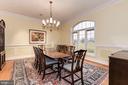 Spacious dining room - 16311 BARNESVILLE RD, BOYDS
