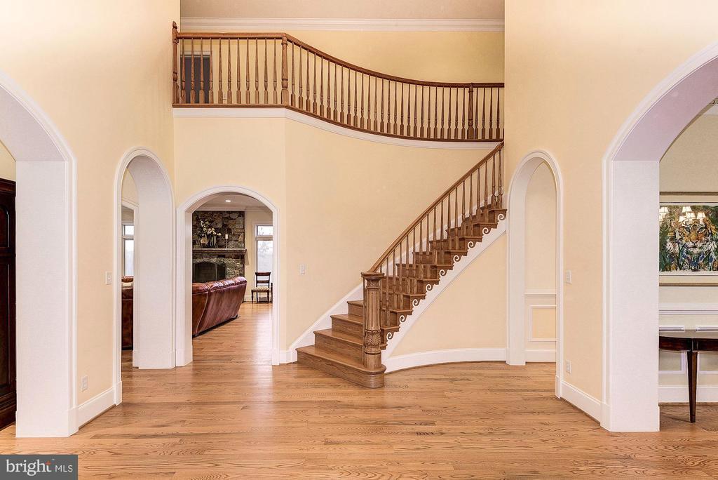 Grand story foyer - 16311 BARNESVILLE RD, BOYDS