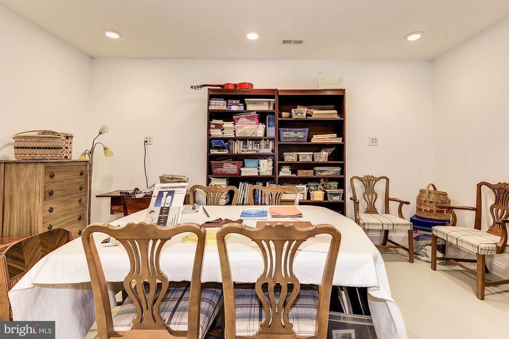 Lower level hobby room - 16311 BARNESVILLE RD, BOYDS