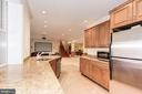 Lower level kitchen - 16311 BARNESVILLE RD, BOYDS