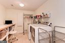 Large laundry room - 16311 BARNESVILLE RD, BOYDS