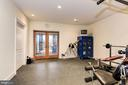 Work out room with private full bathroom - 16311 BARNESVILLE RD, BOYDS