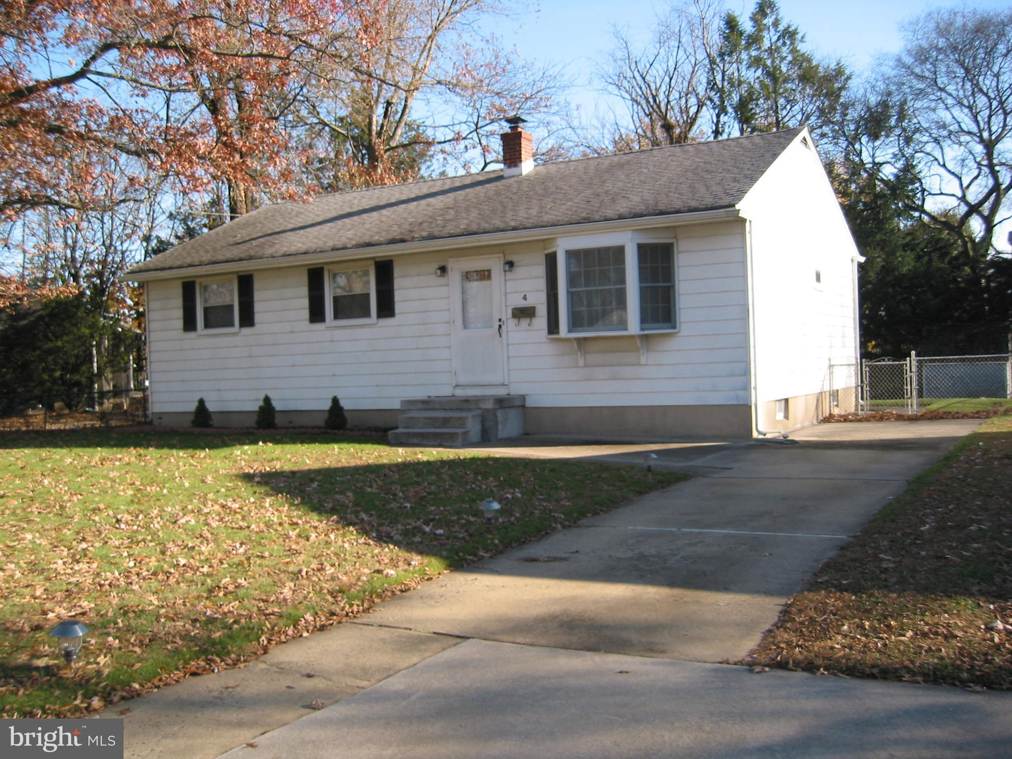 Exterior Front View with Driveway