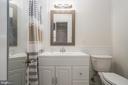 Master bathroom - 1932 38TH ST NW, WASHINGTON