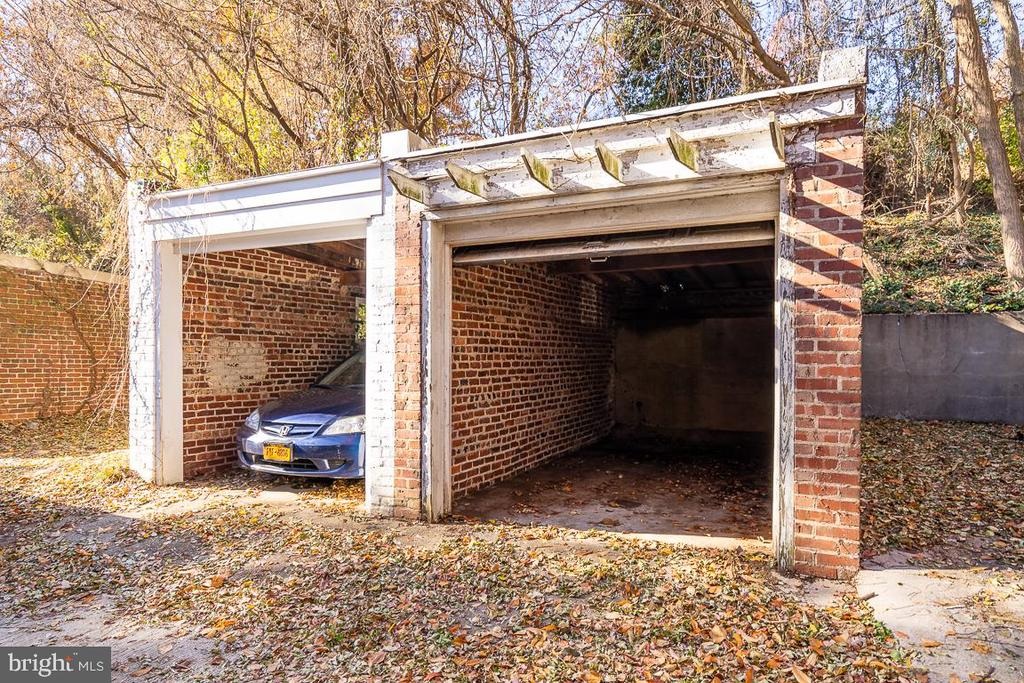 One car garage parking plus parking pad - 1932 38TH ST NW, WASHINGTON