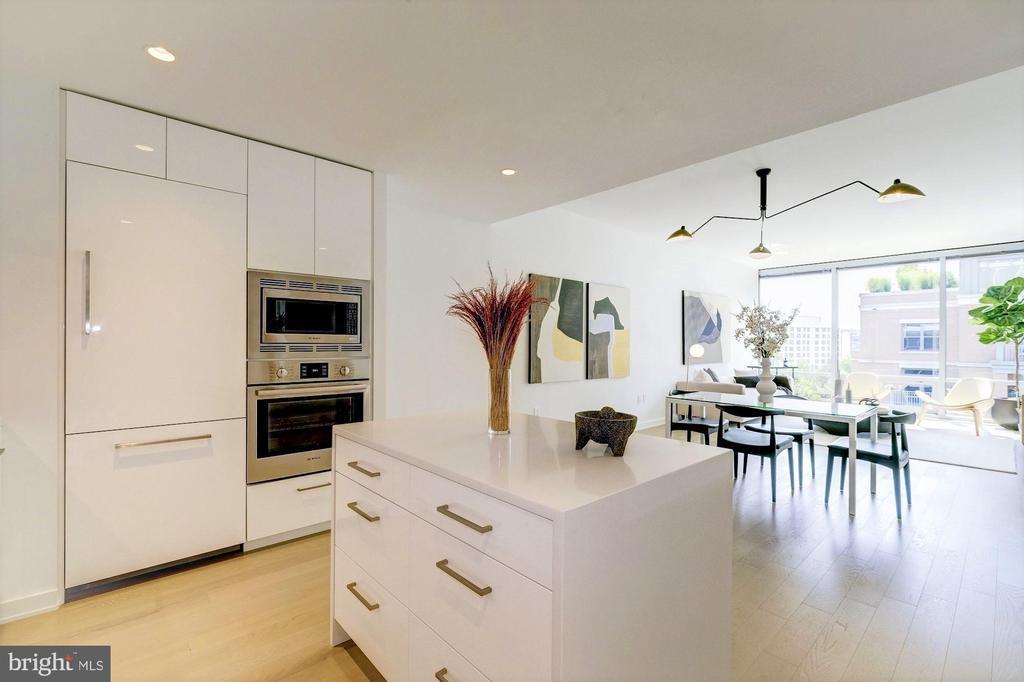 Open concept floor plan - 1111 24TH ST NW #74, WASHINGTON