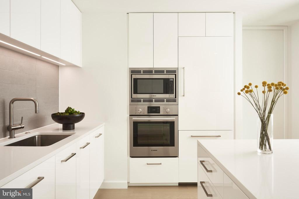 Bosch and Thermador appliances - 1111 24TH ST NW #74, WASHINGTON
