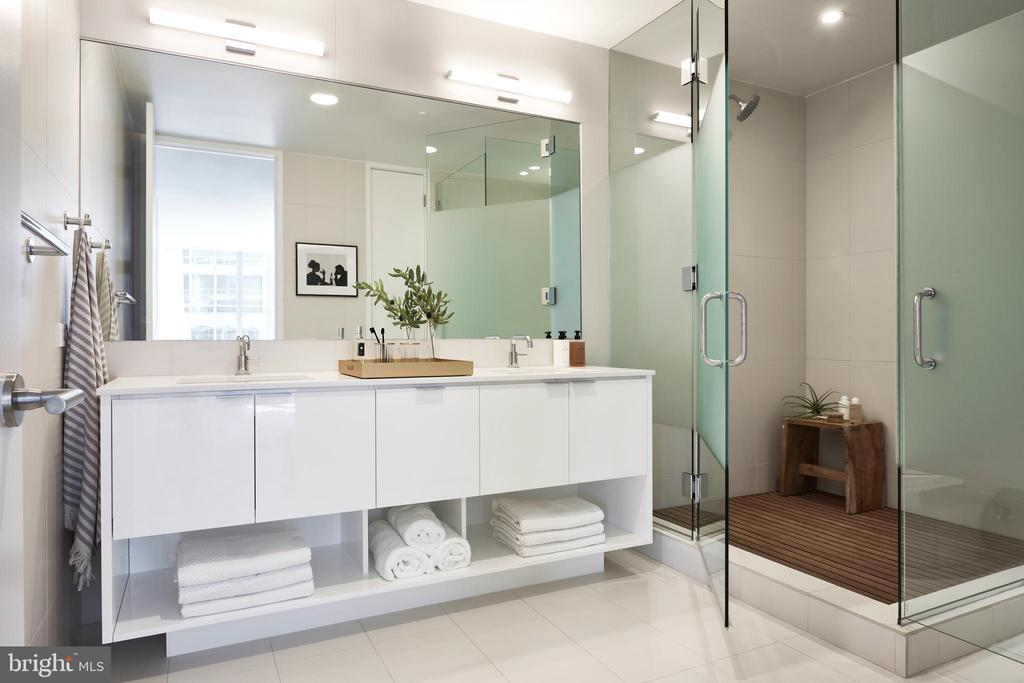 Spa-inspired bathrooms - 1111 24TH ST NW #74, WASHINGTON