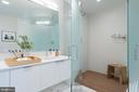 IPE slated teak shower floor - 1111 24TH ST NW #74, WASHINGTON