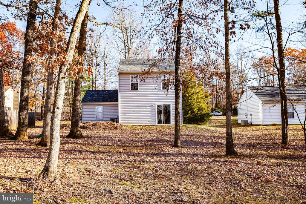 Back of house - 35387 WILDERNESS SHORES WAY, LOCUST GROVE