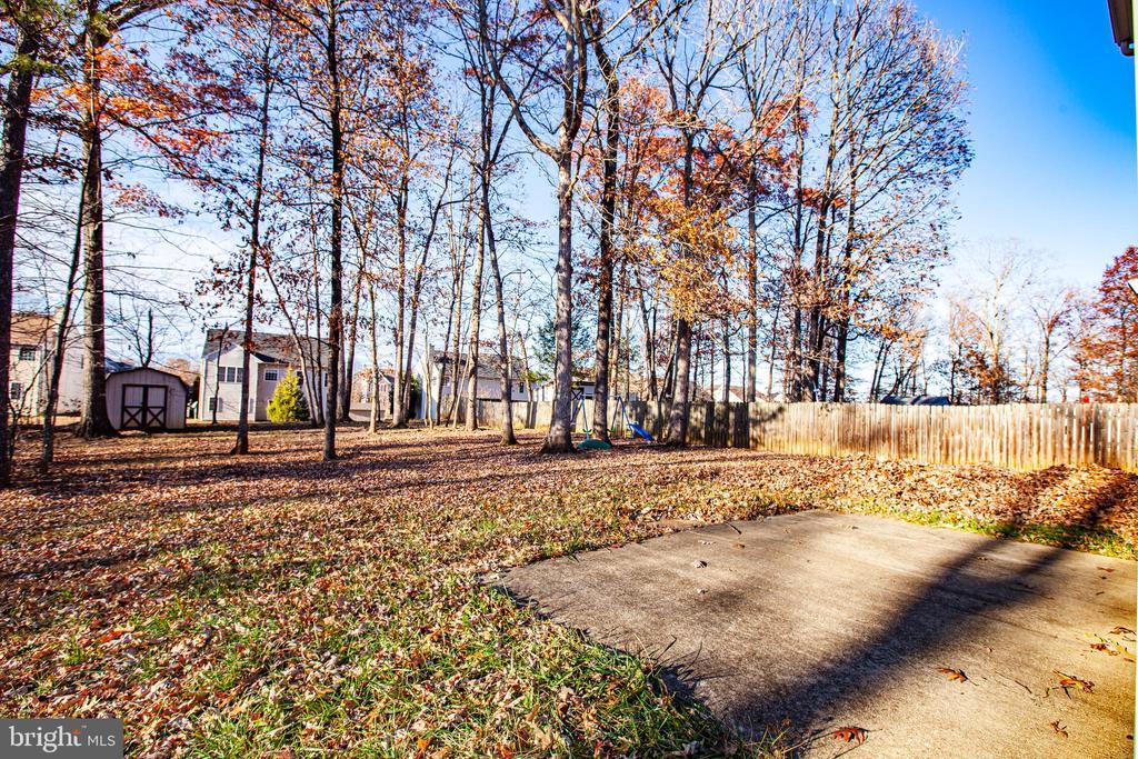 Back yard patio - 35387 WILDERNESS SHORES WAY, LOCUST GROVE