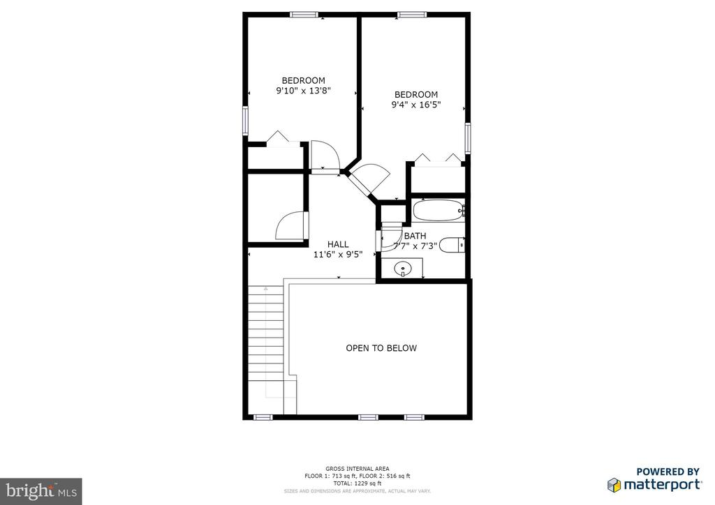 Upper level floor plan - 35387 WILDERNESS SHORES WAY, LOCUST GROVE